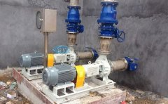 uhb砂浆泵动力密封能换成机械密封不加冷