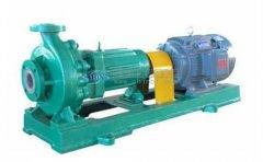 氟塑料化工泵产品的分类及应用概述