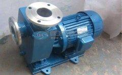 衬氟自吸泵几种常见的故障及其排除方法