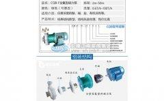 磁力泵型号说明及不同型号的化工应用