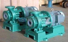 化工行业用泵中的氟塑料衬里离心泵到底