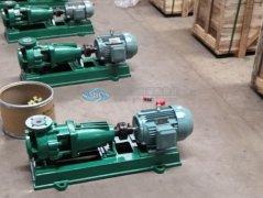 五点概括多级离心泵与单级离心泵的区别