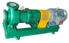 简述氟塑料离心泵空转形成原因及采取措