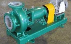 介质密度大小对衬氟离心泵扬程流量功率