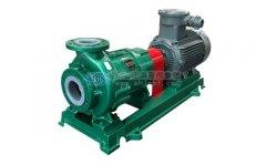 如何合理地改变化工离心泵的工况点及流