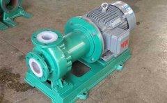 氟塑料磁力泵退磁原因分析及预防措施