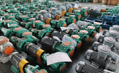 IHF氟合金离心泵的应用条件及操作注意事