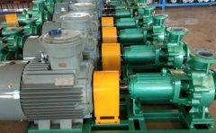 衬氟离心泵的吸入性能介绍