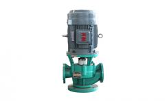 立式衬氟泵的工作原理及产品特点