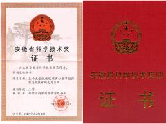 2019年度安徽省科学技术奖获奖名单公布