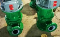 GBF氟塑料管道泵工作原理及特点