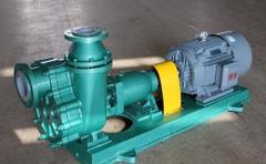 自吸耐酸泵的结构及工作原理