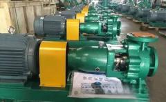 氟塑料衬里化工离心泵安装基础和安装程