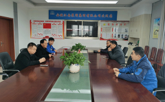 县总工会党组书记李文胜走访江南泵阀