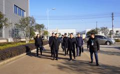 省科技厅党组成员、副厅长李国阳走访调