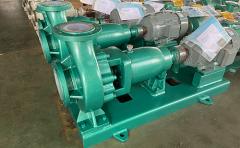 几种卧式衬氟离心泵的流量调节方式分析