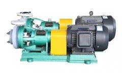 如何选择耐腐蚀泵的材质问题